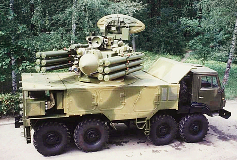 Kbp 2k22 2k22m M1 Tunguska Sa 19 Grison 96k6 Pantsir S1